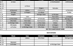 Michigan State University Football Schedule 2021 Printable