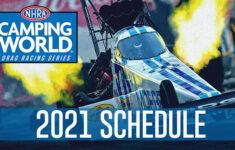 NHRA Releases 22 Race NHRA Camping World Drag Racing
