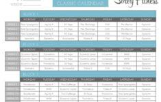 P90X3 Calendars Lean Mass Classic Doubles PDFs