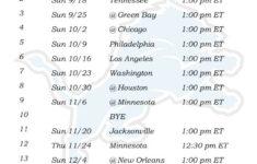 Printable Detroit Lions Schedule 2016 Football Season