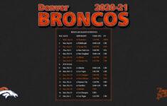 Printable Nfl Schedule 2021 Season Calendar Printables
