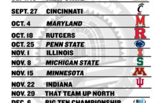 Printable Ohio State Football Schedule 2014 Land Grant