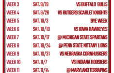 Printable Ohio State Football Schedule 2020