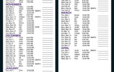 Printable Sacramento Kings Schedule Download Them And