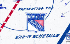 Rangers Announce 2018 19 Schedule NHL