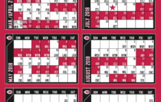 Reds Announce 2018 Schedule Better Off Red