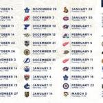 Sabres Announce 2019 20 Regular Season Schedule NHL