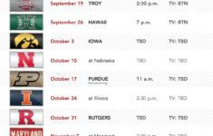 Seadutaaifah10ibb Wisconsin Badger Football Schedule For 2019