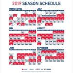 Superb Cleveland Indians Printable Schedule Aubrey Blog