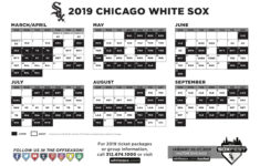 The Best White Sox Printable Schedule Alma Website