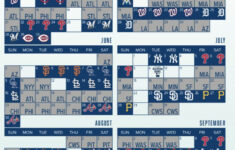 Tim Healey On Twitter The Mets 2019 Schedule Is Out