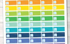 TV Watching Schedule Instant Download Printable Planner