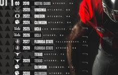 UGA Football Georgia Signs Both Florida State And Clemson