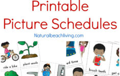 Visual Daily Schedule Printable