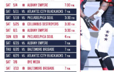Washington Capitals Schedule Printable That Are Zany