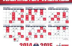 Washington Wizards 2014 15 Schedule DCThriftyMomDCThriftyMom