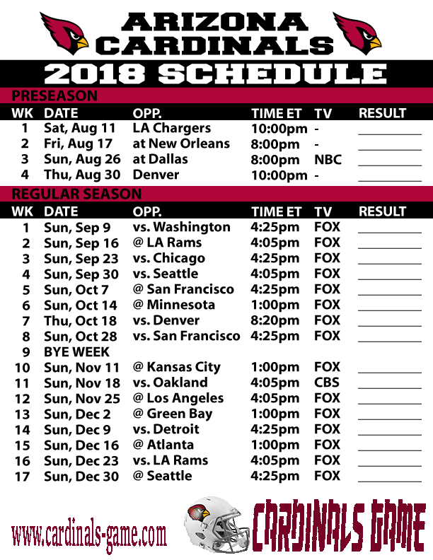 What You Will Need To Watch Arizona Cardinals Game Live