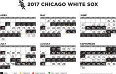 Sox Printable Schedule