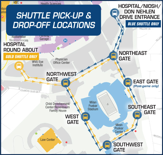 WVU Home Football Schedule 2021 Plus Game Day Guide
