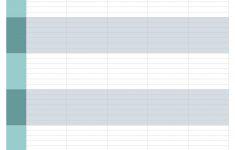 10 Best Free Printable Blank Employee Schedules