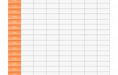 10 Best Weekly Hourly Calendar Printable Printablee