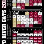 2011 Schedule Sacramento River Cats Schedule