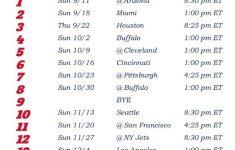 2016 Patriots Printable Schedule PrintAll