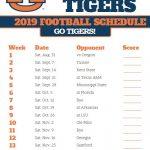 2019 Auburn Tigers Football Schedule Auburn Tigers