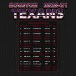 2020 2021 Houston Texans Wallpaper Schedule