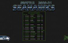 Seahawks Schedule 2021 Printable