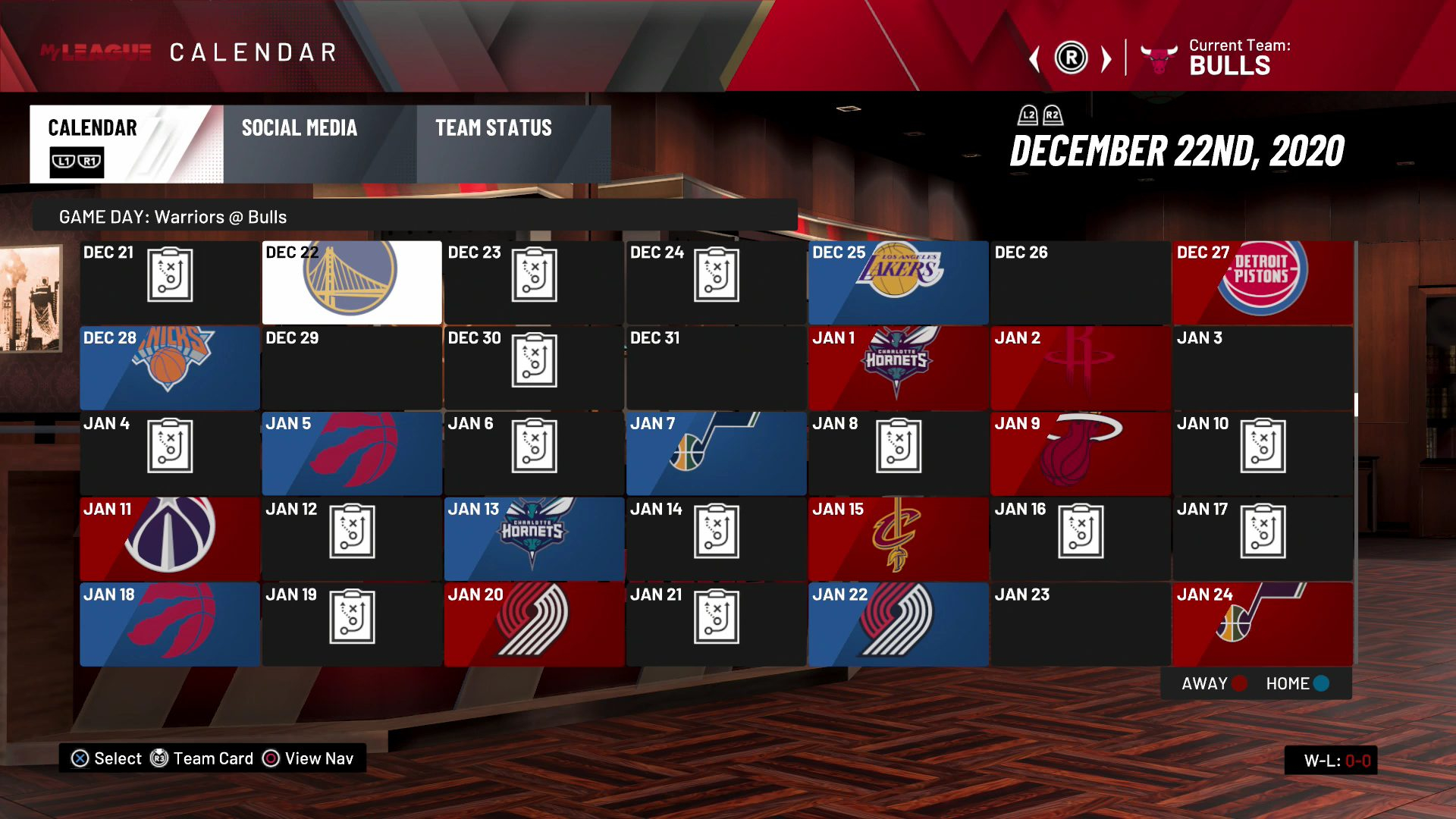 2020 21 NBA First Half Schedule The 35 Games I m Most