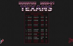 2021 Houston Texans Schedule Printable PrintableSchedule