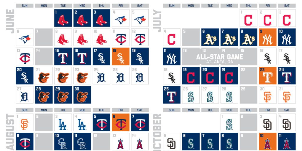 2021 Printable Astros Schedule PrintableSchedule
