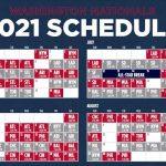 2021 Washington Nationals Team Schedule Tickets