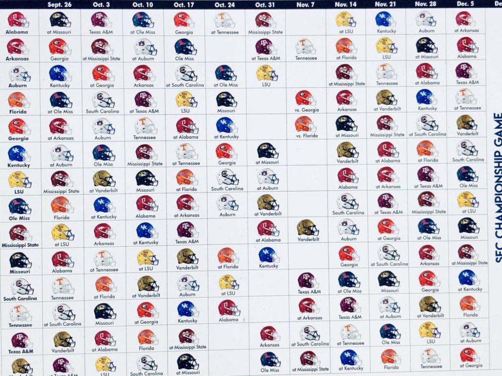 23 Georgia Bulldogs 2021 Football Schedule PNG Printable