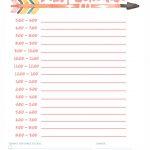 6 Best Printable Kids Daily Routine Schedule Printablee