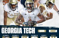 ACC Unveils Georgia Tech S 2021 Football Schedule