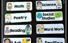 Back To School Classroom Prep Classroom Schedule