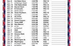 Basketball Schedule Template Best Of Printable 2017 2018