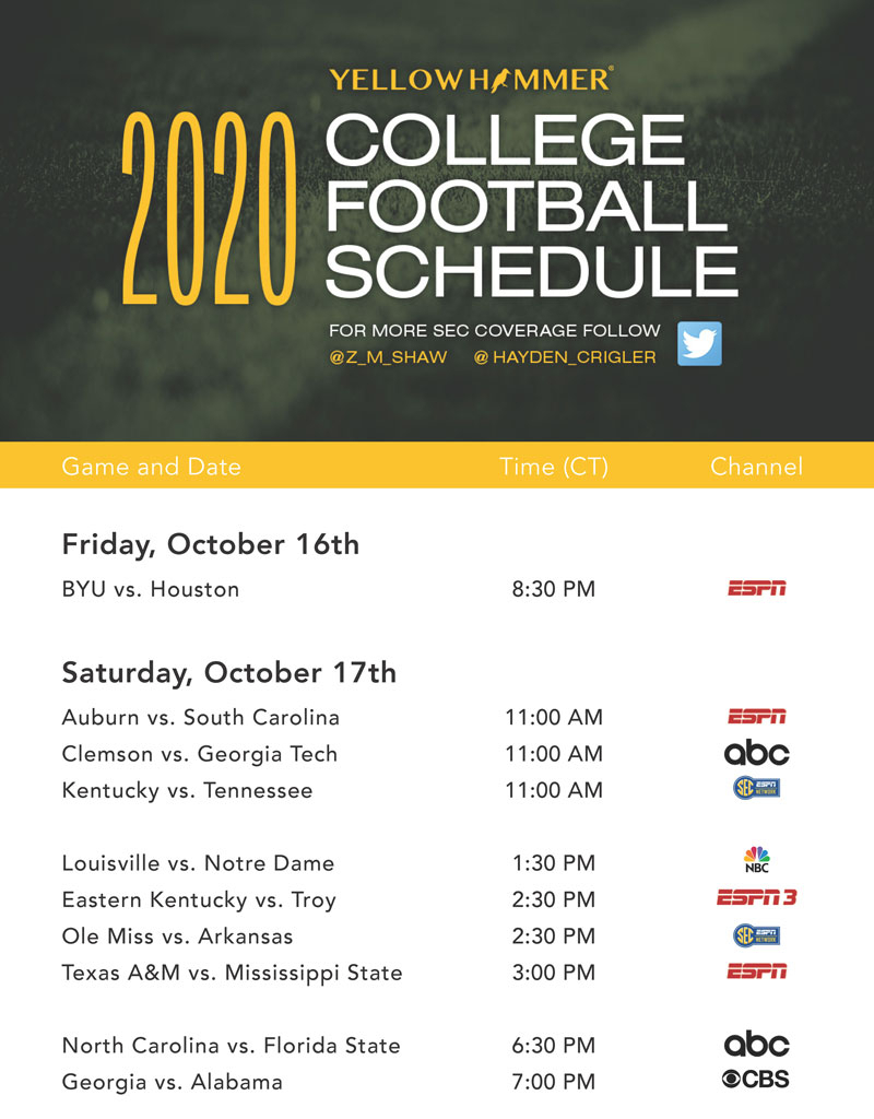 Best Printable 2021 Sec Football Schedule Calendar