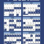 Blue Jays 2021 Printable Schedule PrintableSchedule