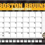 Boston Bruins Schedule Printable 2021 Nhl Releases 2021