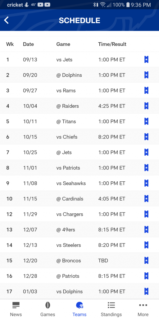 Buffalo Bills 2020 2021 Schedule Is Out I M Not That
