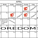 Calgary Flames Home Schedule Pdf
