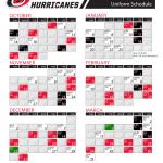 Carolina Hurricanes Announce Entire 2018 19 Uniform