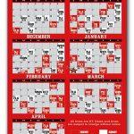 Carolina Hurricanes Pro Hockey Schedule Magnets 4 X 7