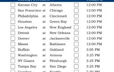 Central Time Week 13 NFL Schedule 2016 Printable