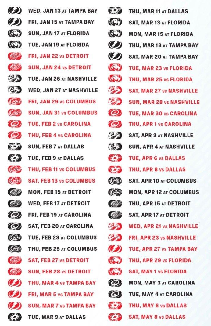 Chicago Blackhawks Announce 2020 21 Schedule