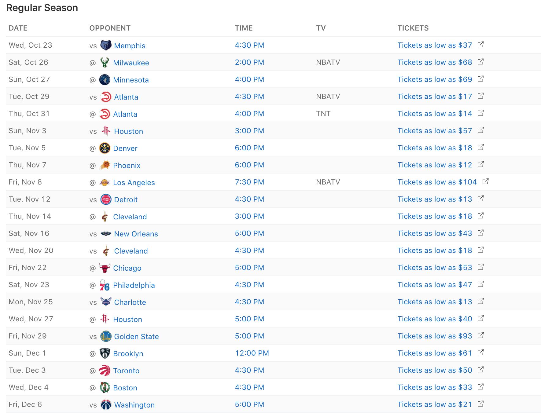 Dallas Mavericks Printable Schedule Dallas Mavericks