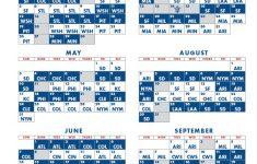 Printable Schedule 2021